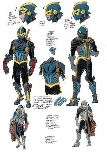 Black Knight (diseños)