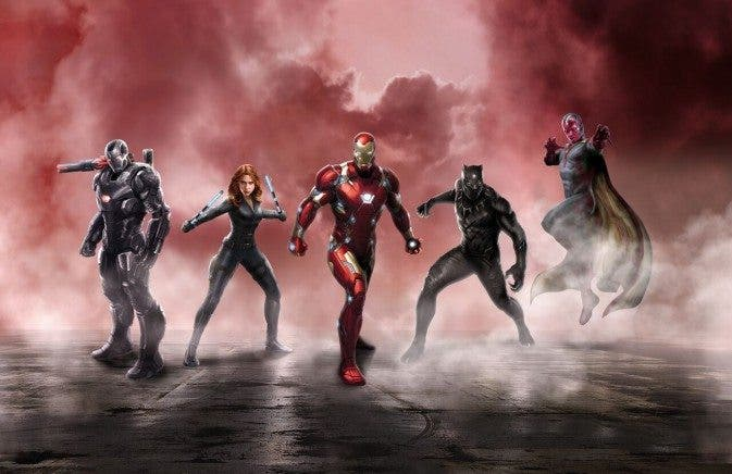 Marvel: Equipo Iron Man en Capitán América: Civil War