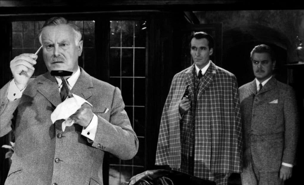 Christopher Lee Sherlock Holmes
