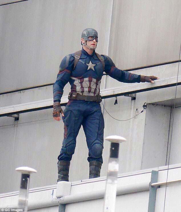 Rodaje de Capitán América: Civil War