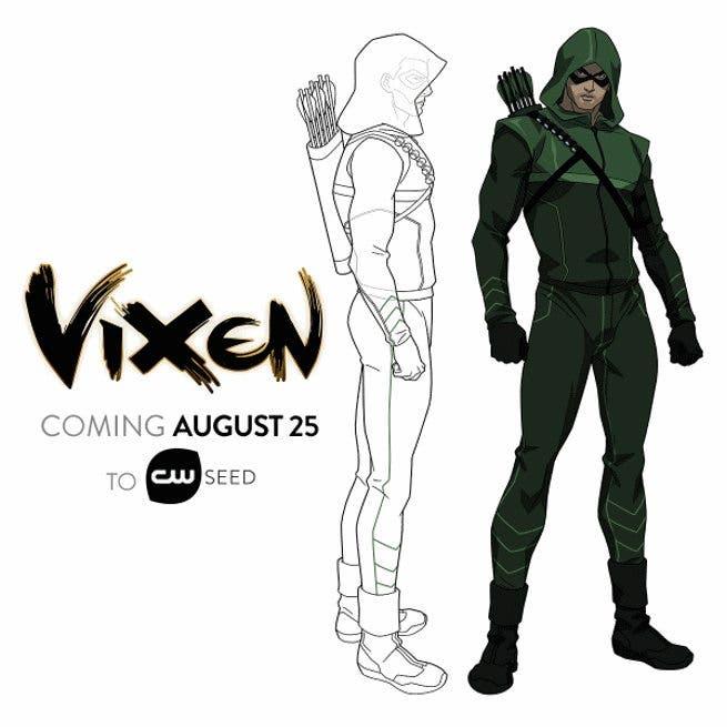 Diseño Arrow VIXEN