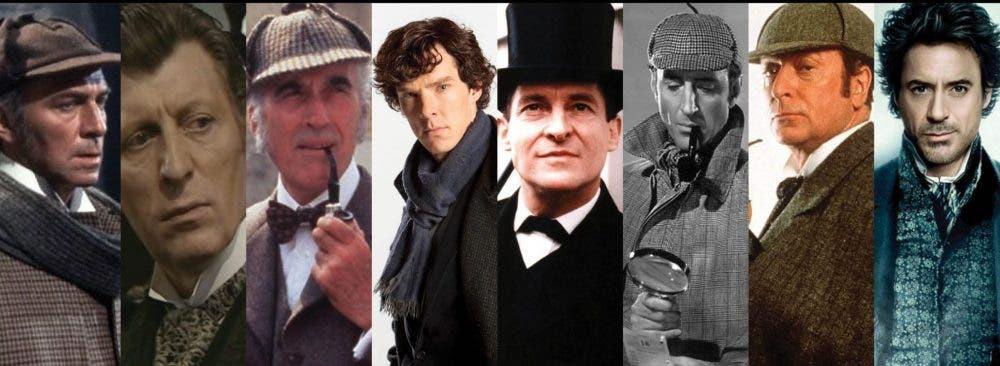 Las caras de Sherlock Holmes