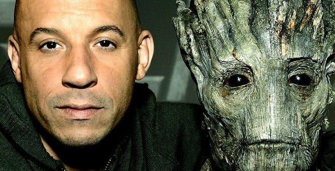 Vin Diesel Guardianes de la Galaxia