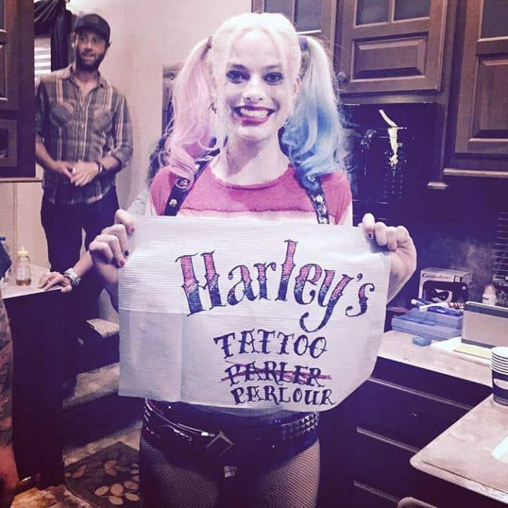 Harley Quinn (nueva foto - tatto)