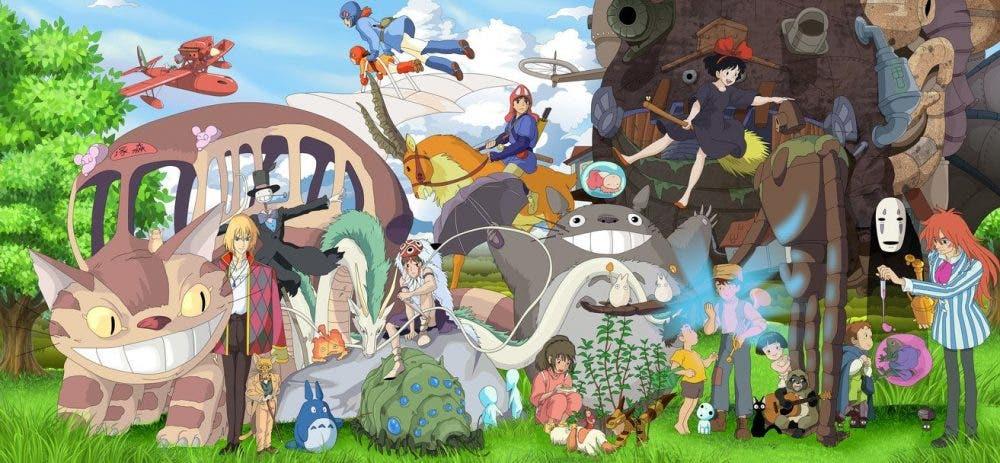 Hayao Miyazaki ghibli todos los personajes