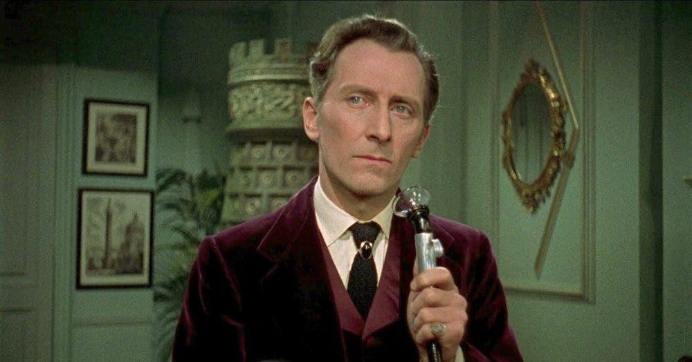 Peter Cushing Sherlock Holmes