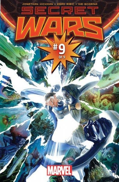 Secret Wars (portada Alex Ross)
