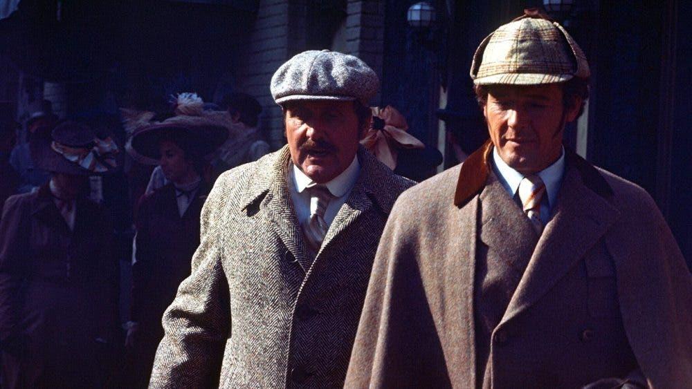 Sherlock Holmes en New York Roger Moore
