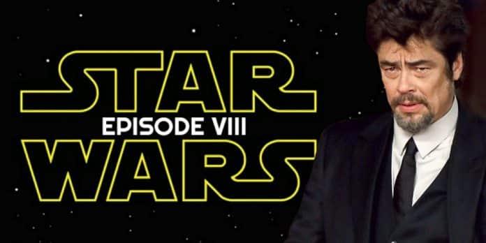Benicio del Toro ya se ve como el villano de 'Star Wars: VIII'