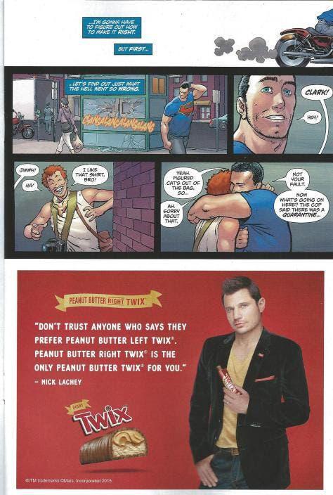 Superman (DC Comics - anuncio)