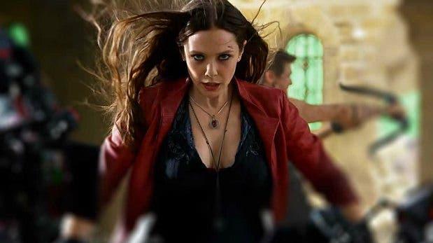 Elisabeth Olsen es Bruja Escarlata en Los Vengadores: La era de Ultron
