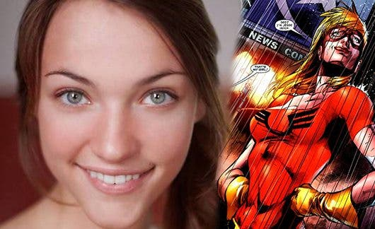 Violett Beane será Jesse Quick en The Flash