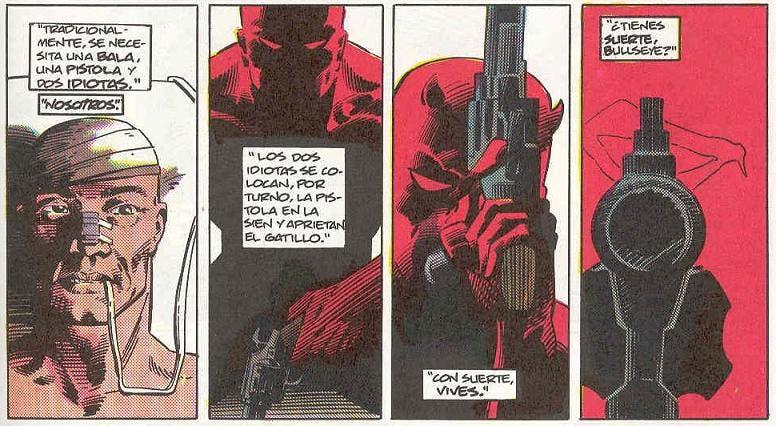 Daredevil. Ruleta de Frank Miller