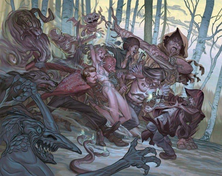 """""""La Espada"""" ha elegido a Rob Bailey para ser su portador y manejar el poder de 'El Ocultista', magia y demonios para la nueva serie de Aleta"""