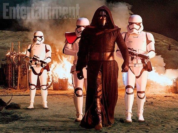 Fotograma de Star Wars: El Despertar de la Fuerza