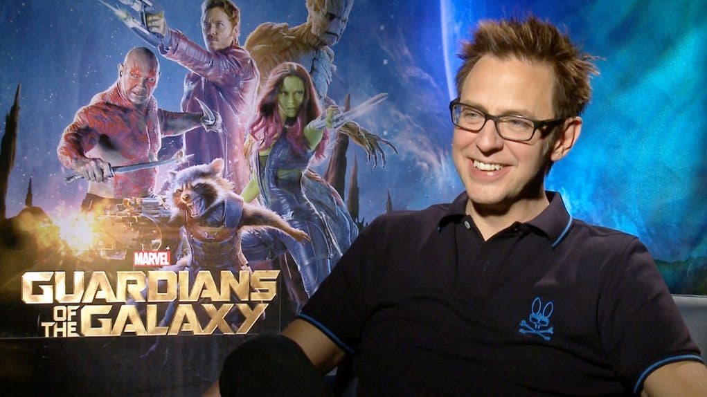 Guardianes de la Galaxia dirigida por James Gunn