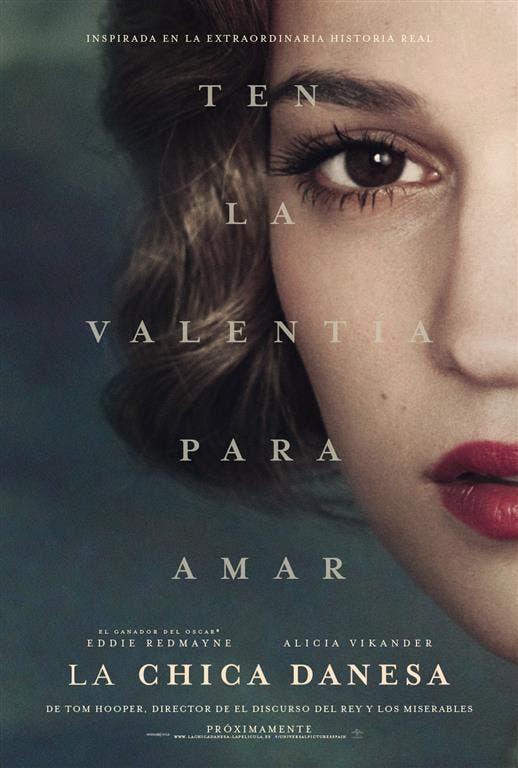 póster Alicia Vikander 'La chica danesa'