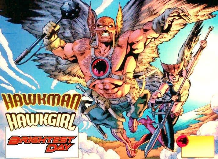 Hawkman y Hawkgirl | Wonder Woman 2 (DC Comics)