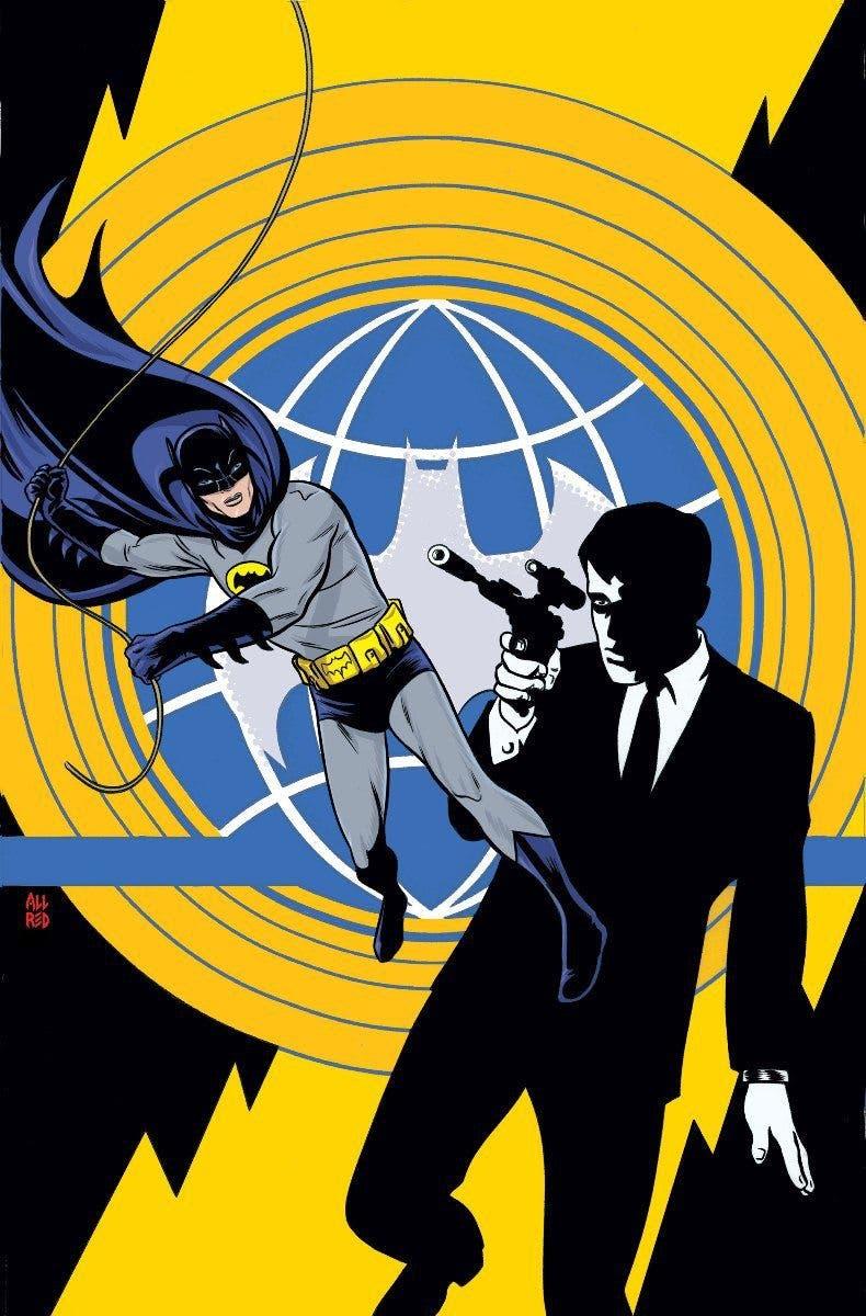 Portada Batman66UNCLE