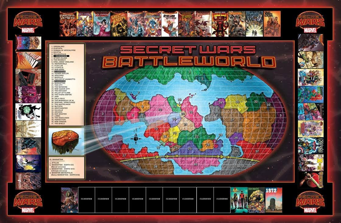 SECRET WARS (Mundo de Batalla)
