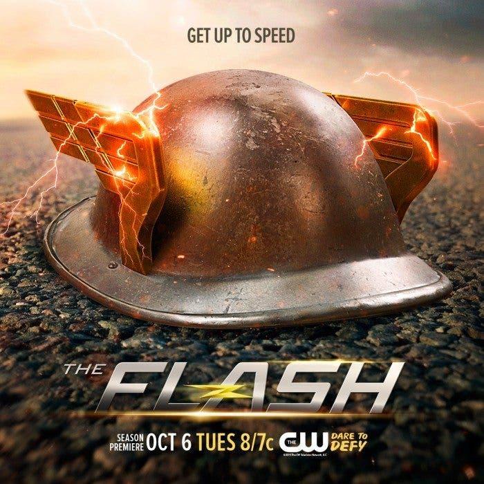 The Flash (Jay Garrick - casco)