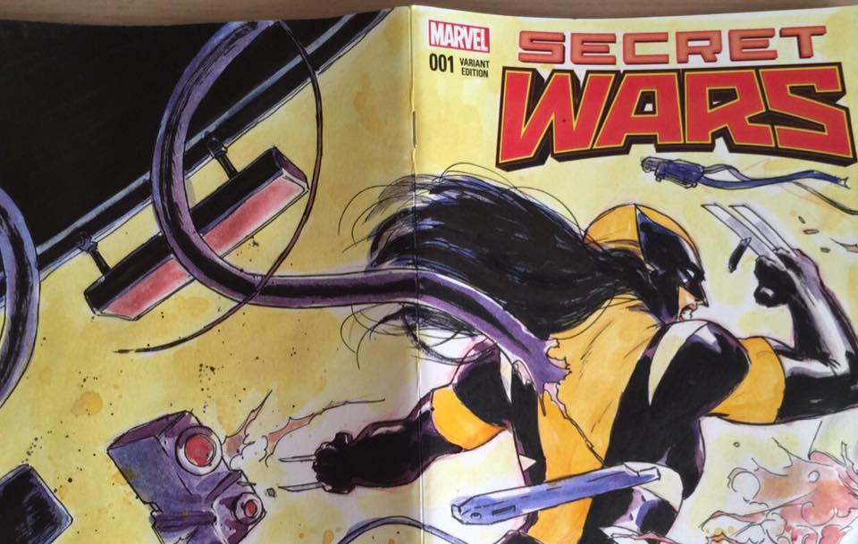 Portada Secret Wars David López