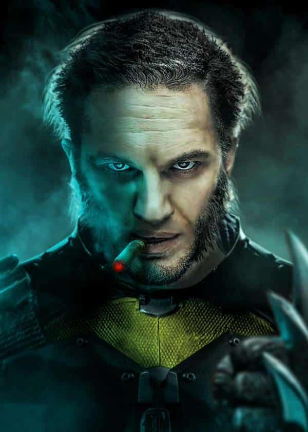 Tom Hardy como Lobezno