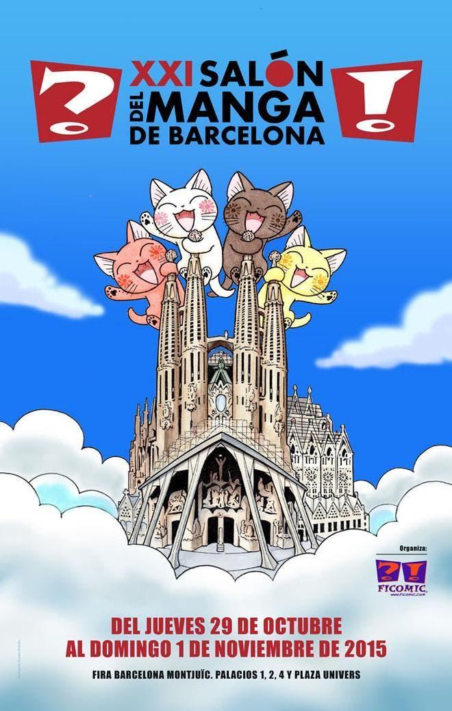 Cartel Salón del Manga de Barcelona