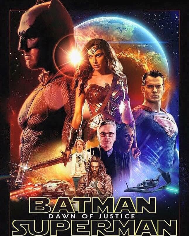 Fan poster de Batman v Superman SW