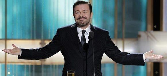 Ricky Gervais globos de oro