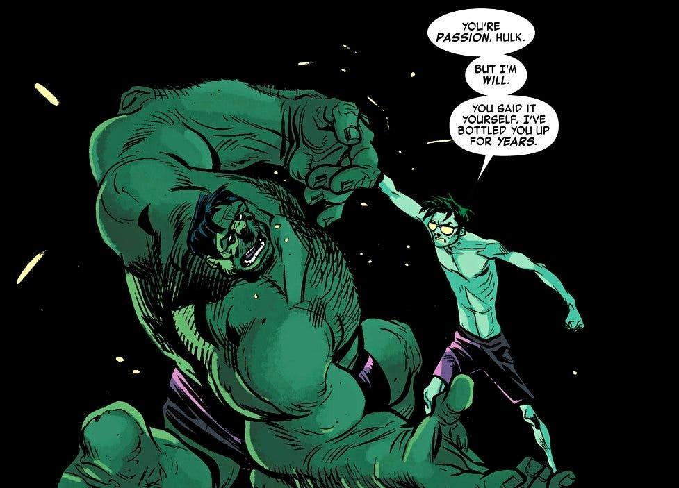 Hulk v Bruce Banner