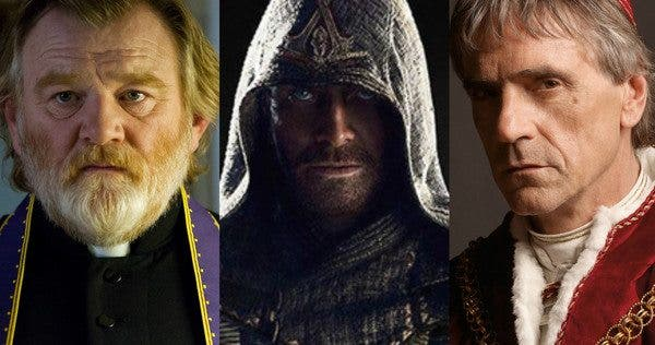Jeremy Irons brendan gleeson Assassin's Creed