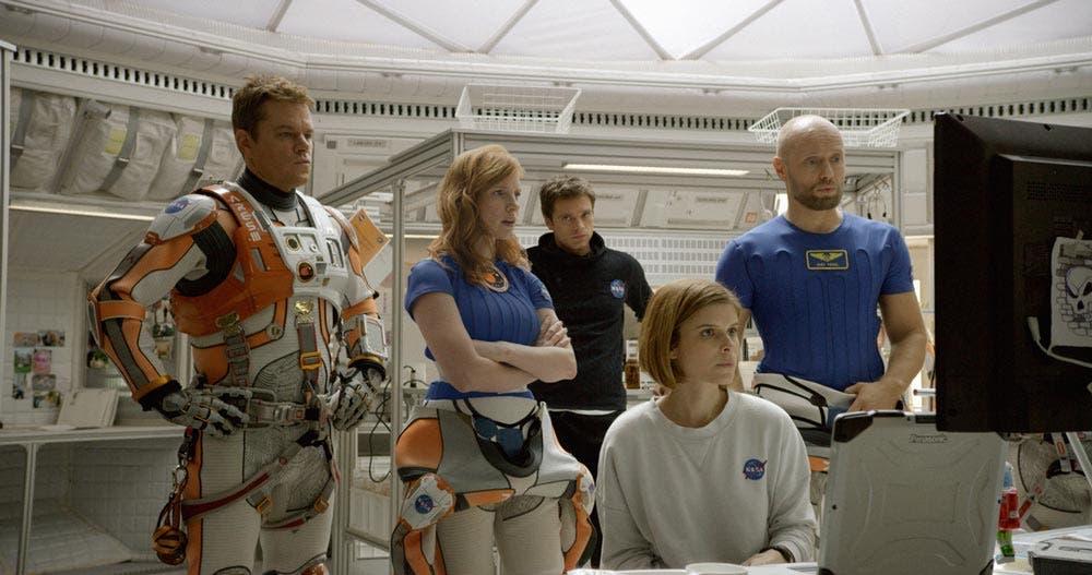 Jessica Chastain en 'Marte'
