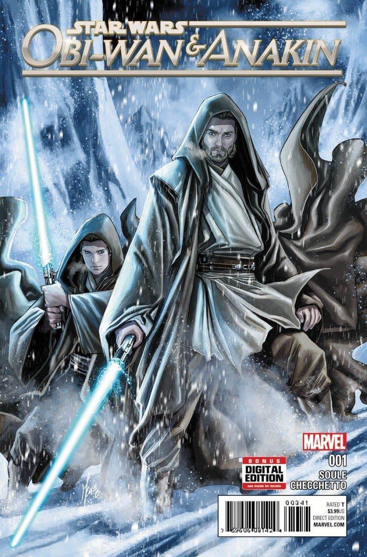 Portada de Star Wars: Obi-Wan & Anakin