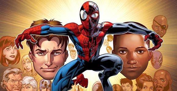 Spider-man Peter Parker / Miles Morales