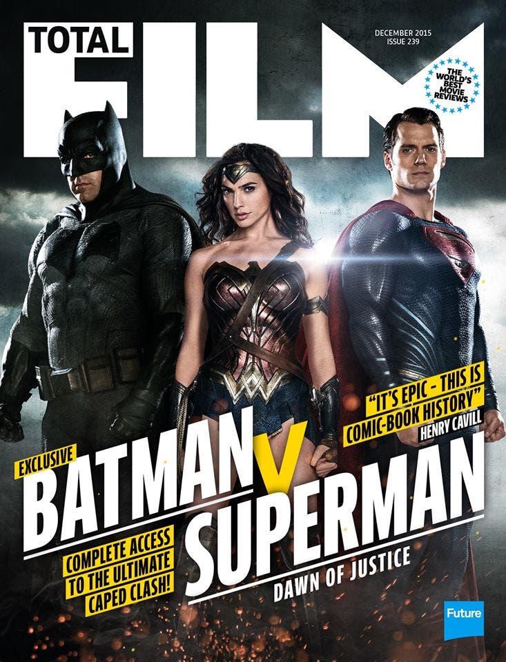 Portada Total Film Batman v Superman