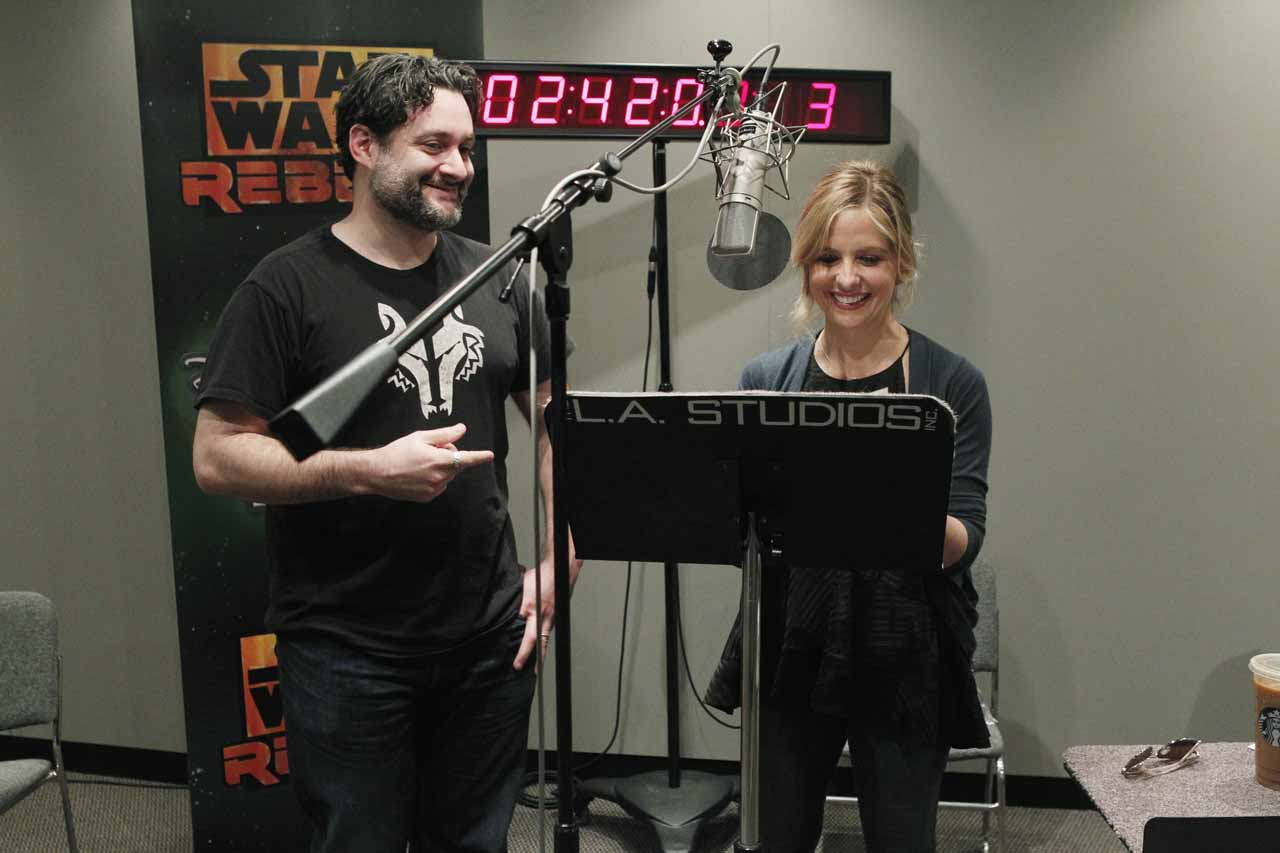 Sarah Michelle Gellar es Seventh Sister en 'STAR WARS: REBELS'