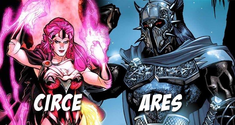 Ares y Circe