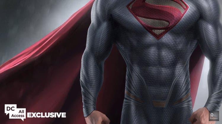 detalles traje superman (Batman v Superman)