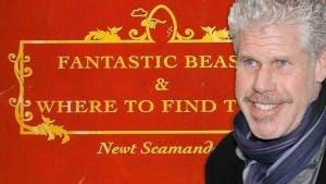 Ron Perlman Animales fantásticos y dónde encontrarlos