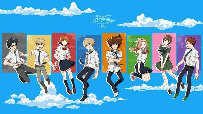 imagen promocional de Digimon Adventure tri