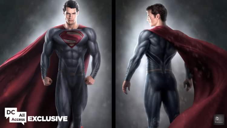 Batman v superman traje de superman