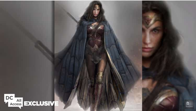 Wonder Woman en Batman v Superman