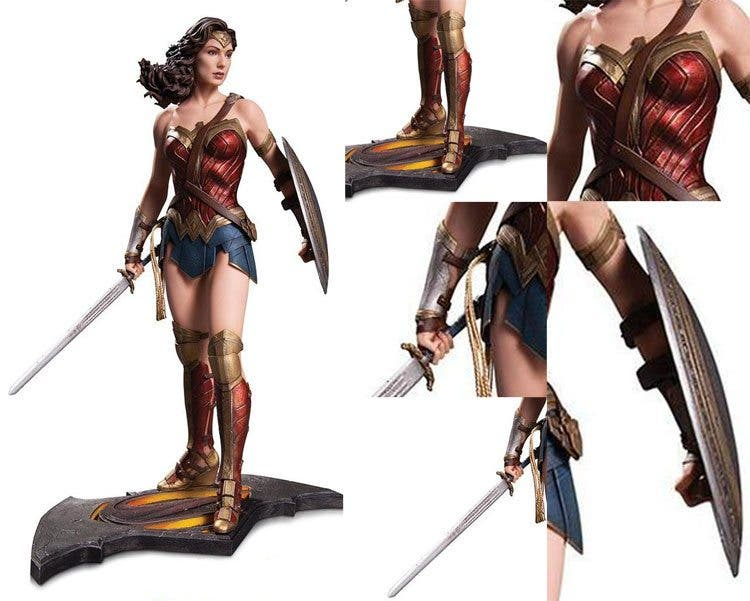 Detalles de la armadura de Wonder Woman en Batman v superman