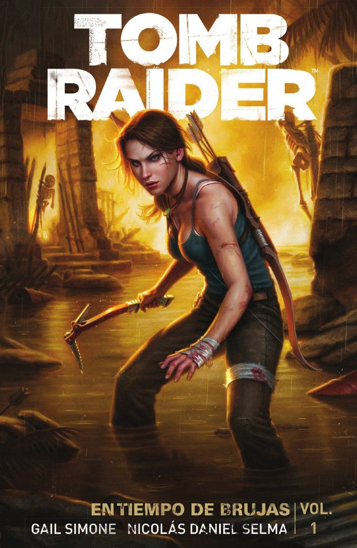Portada de Tomb Raider - Aleta ediciones