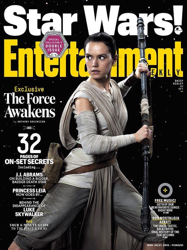 Rey Star Wars El despertar de la fuerza