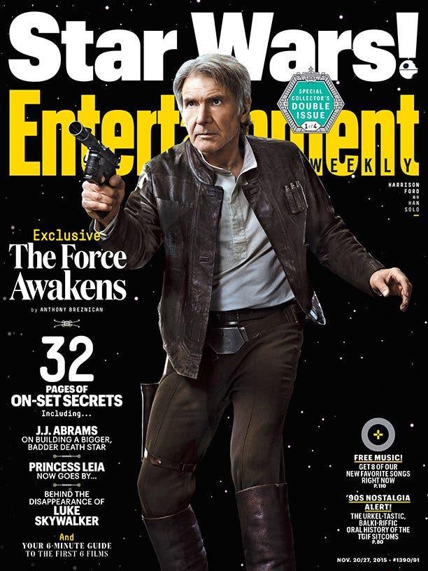 Han Solo Star Wars El despertar de la fuerza