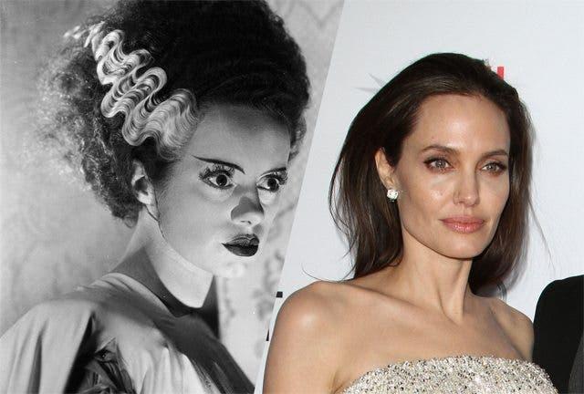 La Novia de Frankestein Angelina Jolie