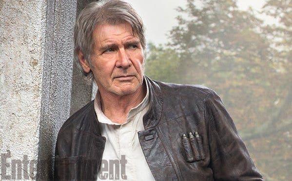 Han Solo en Star Wars: El despertar de la fuerza