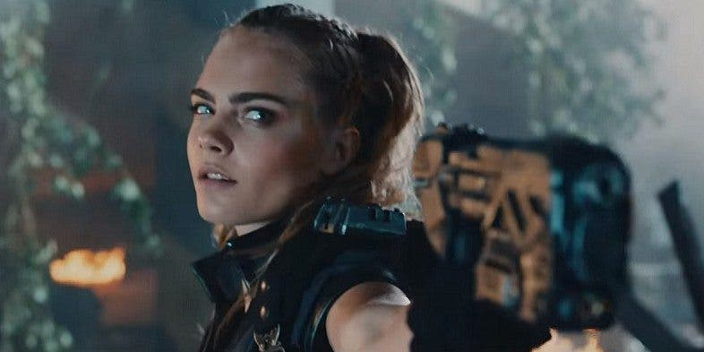 Cara Delevingne Call of Duty Black Ops III trailer